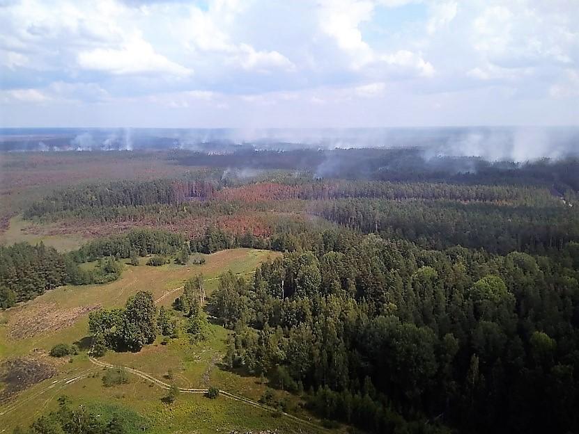 Lietuvos kariuomenė prisideda prie gaisrų gesinimo Švedijoje | kam.lt, S.Rinkevičiaus nuotr.