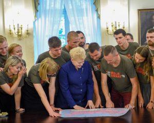 """Misija Sibiras'18"" prezidentūroje | lrp.lt nuotr."