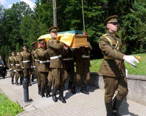 Į amžinybę palydėta Kovo 11-osios Akto signatarė V. Jasukaitytė | Alkas.lt, J. Vaiškūno nuotr.