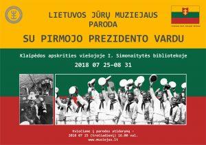 Parodos plakatas | Klaipėdos apskrities viešosios I. Simonaitytės bibliotekos nuotr.