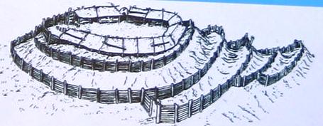 Rekonstrukcijos pvz_Degučių piliakalnis