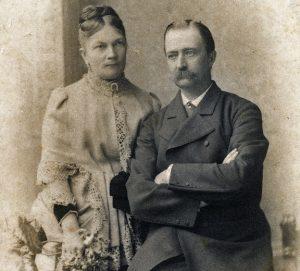 Sofija ir Juozapas Tiškevičiai. Frankfurtas prie Maino, 1882–1885 m. | Otto van Bosch nuotr.