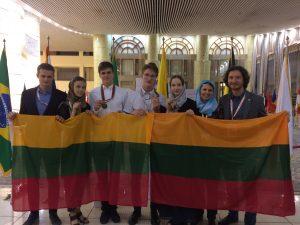 Lietuvių komanda tarptautinėje biologijos olimpiadoje Irane | lmnsc.lt nuotr.