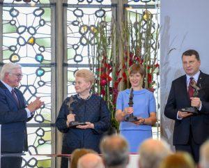 Vestfalio premijos įteikimas Lietuvai | lrp.lt nuotr.