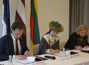 Lietuva, Latvija ir Estija steigs bendrą Baltijos valstybių kultūros fondą | lrkm.lt nuotr.