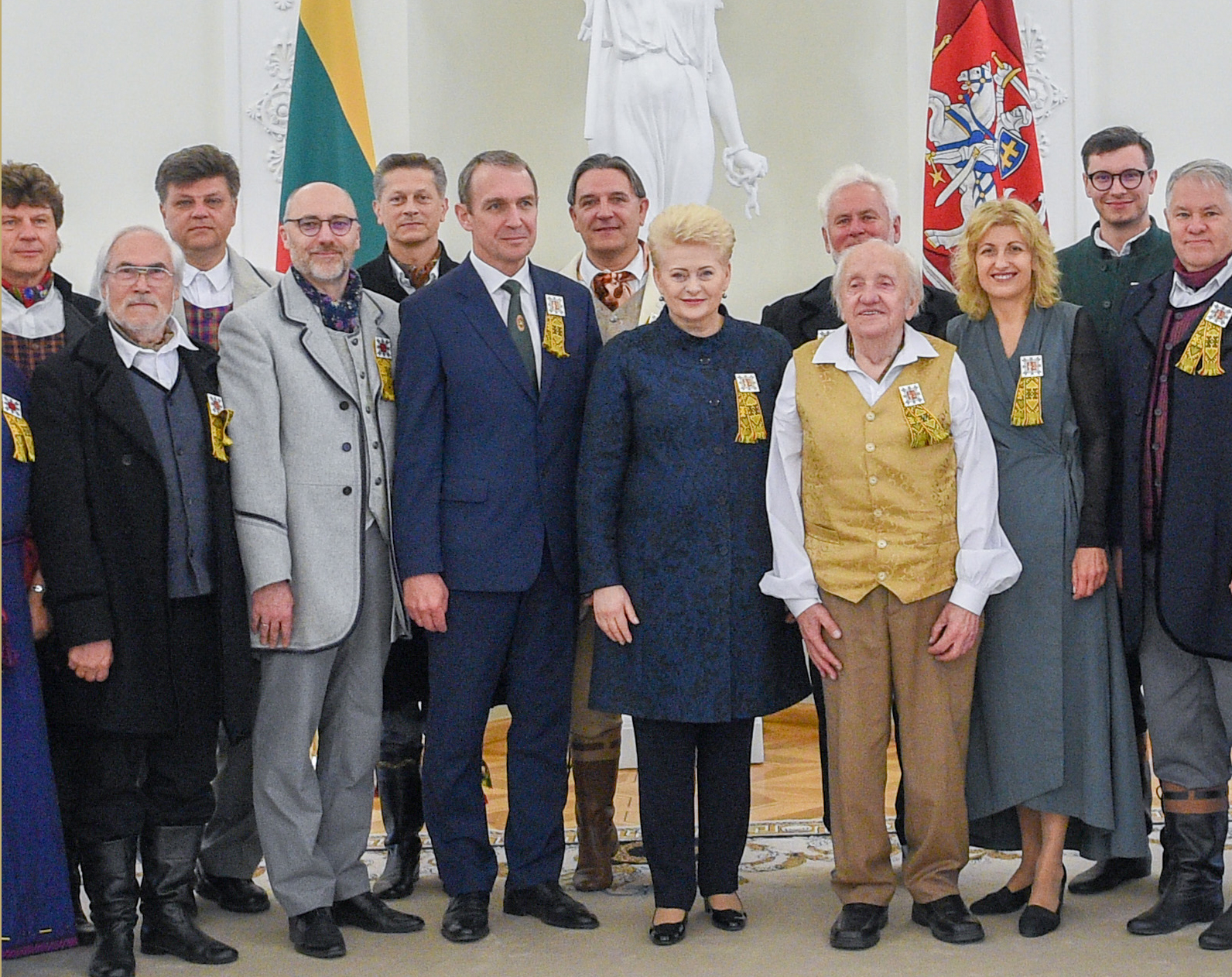 Paskelbta šimtmečio Dainų šventės pradžia | lrp.lt, R. Dačkaus nuotr.