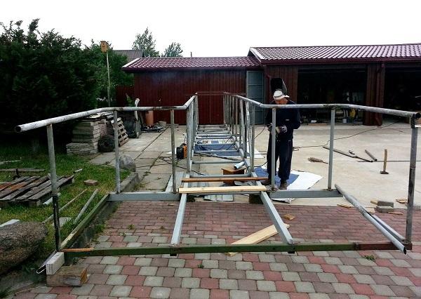 Tiltelio gamyba | Kauno rajono savivaldybės nuotr.