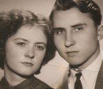 Zofija ir Algirdas Vaškevičiai. 1958 m.   Asmeninio albumo nuotr.