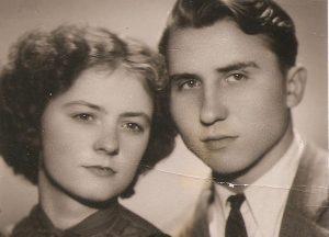 Zofija ir Algirdas Vaškevičiai. 1958 m. | Asmeninio albumo nuotr.