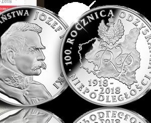 2018-ųjų Lenkijos nepriklausomybės metinėms skirtas medalis | www.skarbnicanarodowa.pl nuotr.