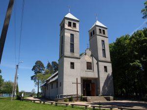 Šalčininkuose, Apaštalo Petro bažnyčia | wikipedija.org nuotr.