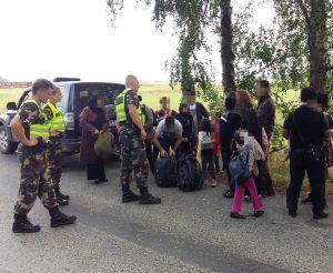 Ignalinos r. sulaikyta 20 Lietuvos valstybinės sienos pažeidėjų | VSAT nuotr.