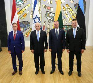 B. Netanjahu vizitas Lietuvoje. A. Sartanavičiaus nuotr.