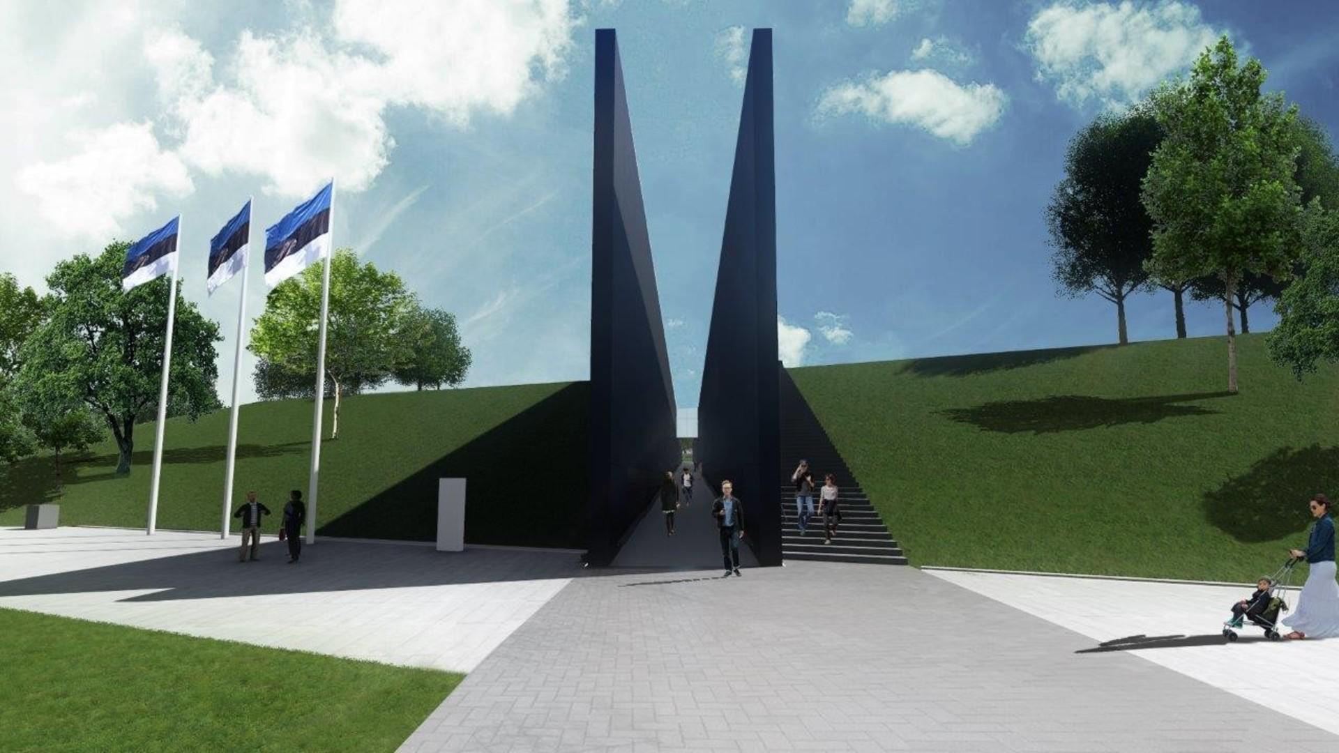 Vadinamasis memorialo koridorius , simbolizuojantis totalitarinio režimo negailestingumą ir nežmoniškumą   B. Puzinavičiaus nuotr.