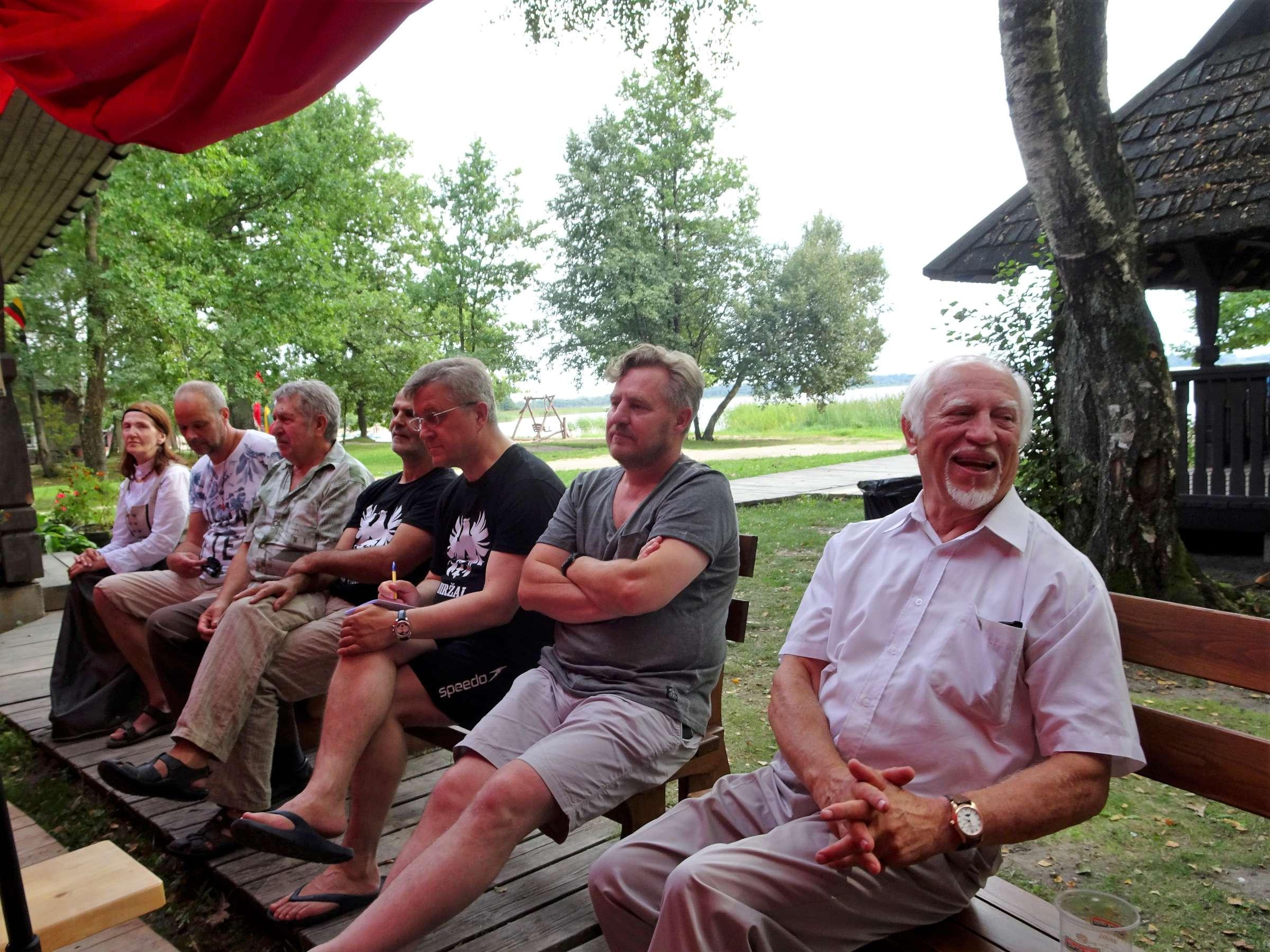 Tautinių jėgų sąskrydis rie Lūksto ežero | A. Stalilionio nuotr.