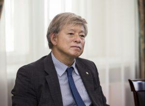 Korėjos universiteto prezidentas prof. Jaeho Yeom | Vytauto Didžiojo universiteto nuotr.
