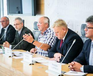 LSDP frakcijos narių spaudos konferencija Seime | lrp.lt, O. Posaškovos nuotr.