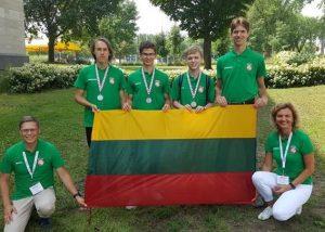Lietuvos geografų olimpiadoje Kvebeke (Kanada) | lmnc.lt nuotr.