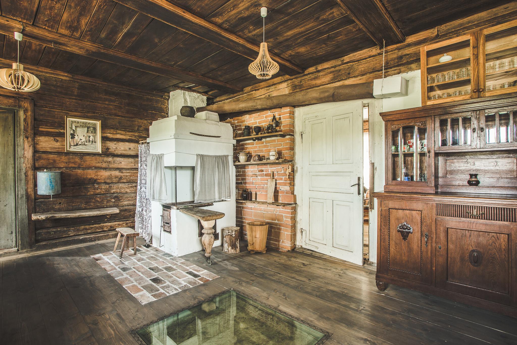 Namo interjeras - Didžioji virtuvė | Autorių nuotr.
