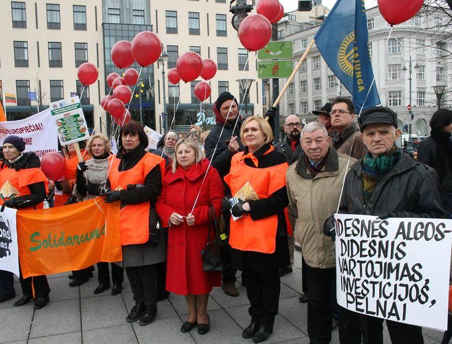 """Lietuvos profesinės sąjungos """"Solidarumas""""   www.lps.lt"""