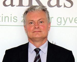 Išrinktasis Prezidentas Gitanas Nausėda | Alkas.lt nuotr.