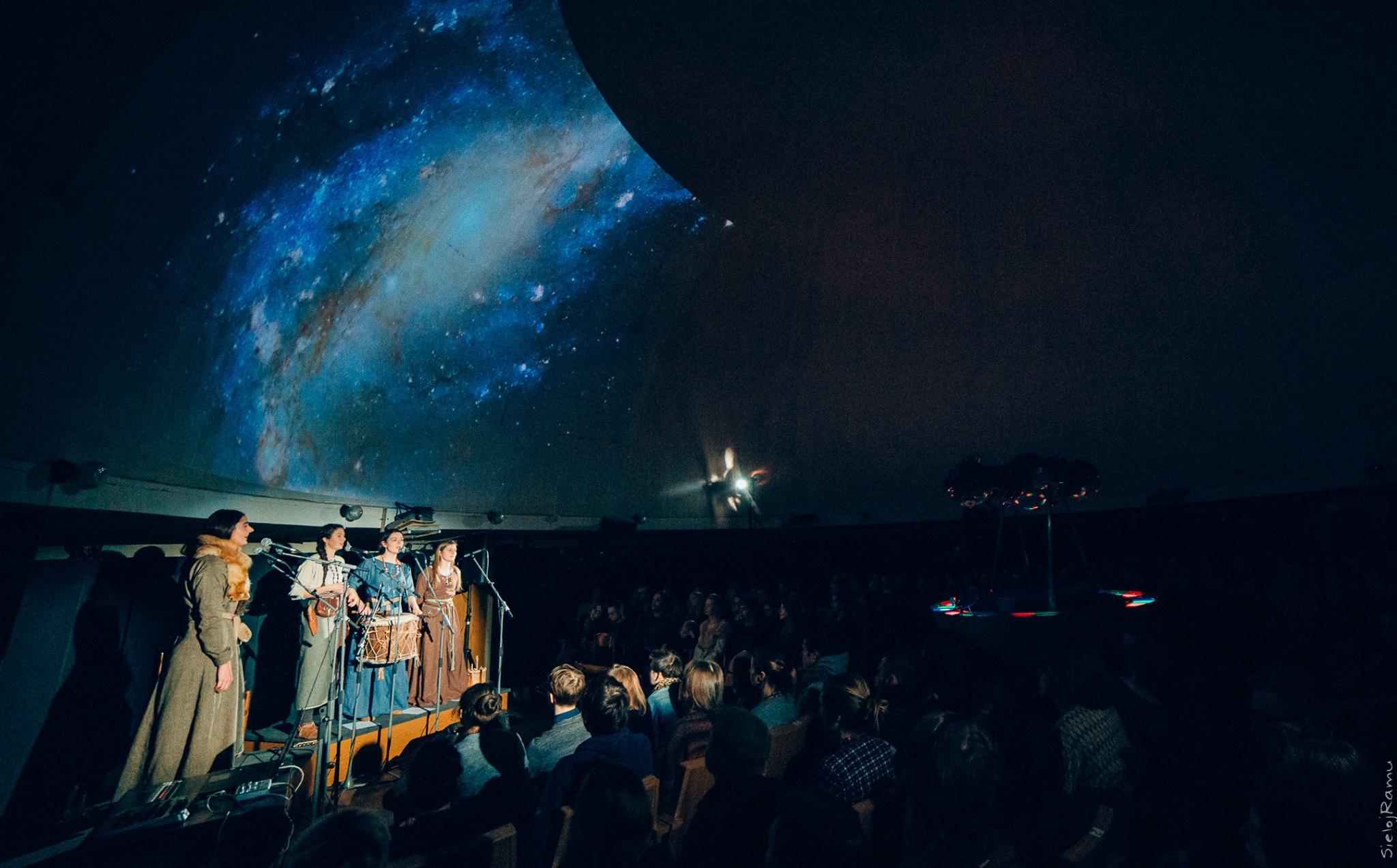 Obelija 2017 Planetariume | M. Puidos nuotr.