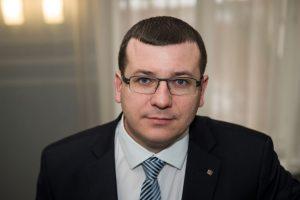 Viceministras Edvinas Kerza | ESET nuotr.