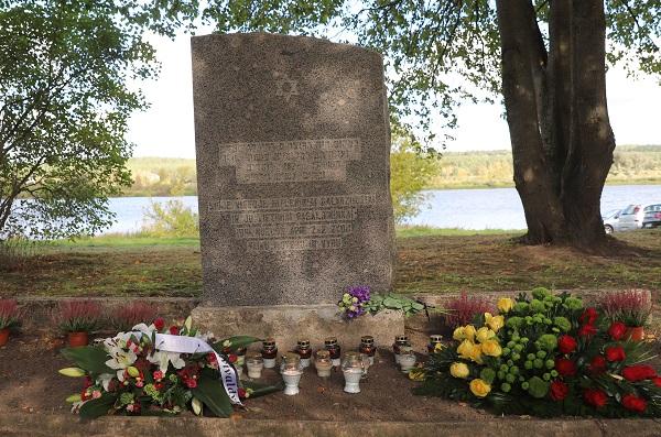 Žydų žūties vieta Zapyškyje | Kauno rajono savivaldybės nuotr.