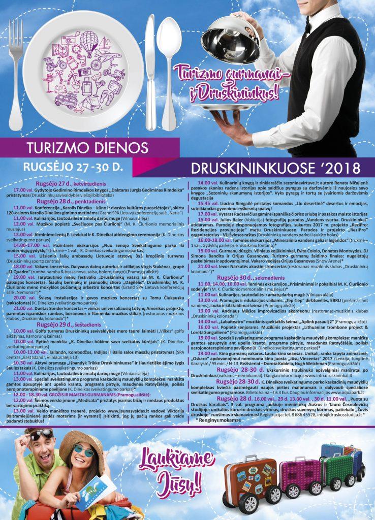 2018 Turizmo dienos   Druskininkų kultūros centro nuotr.