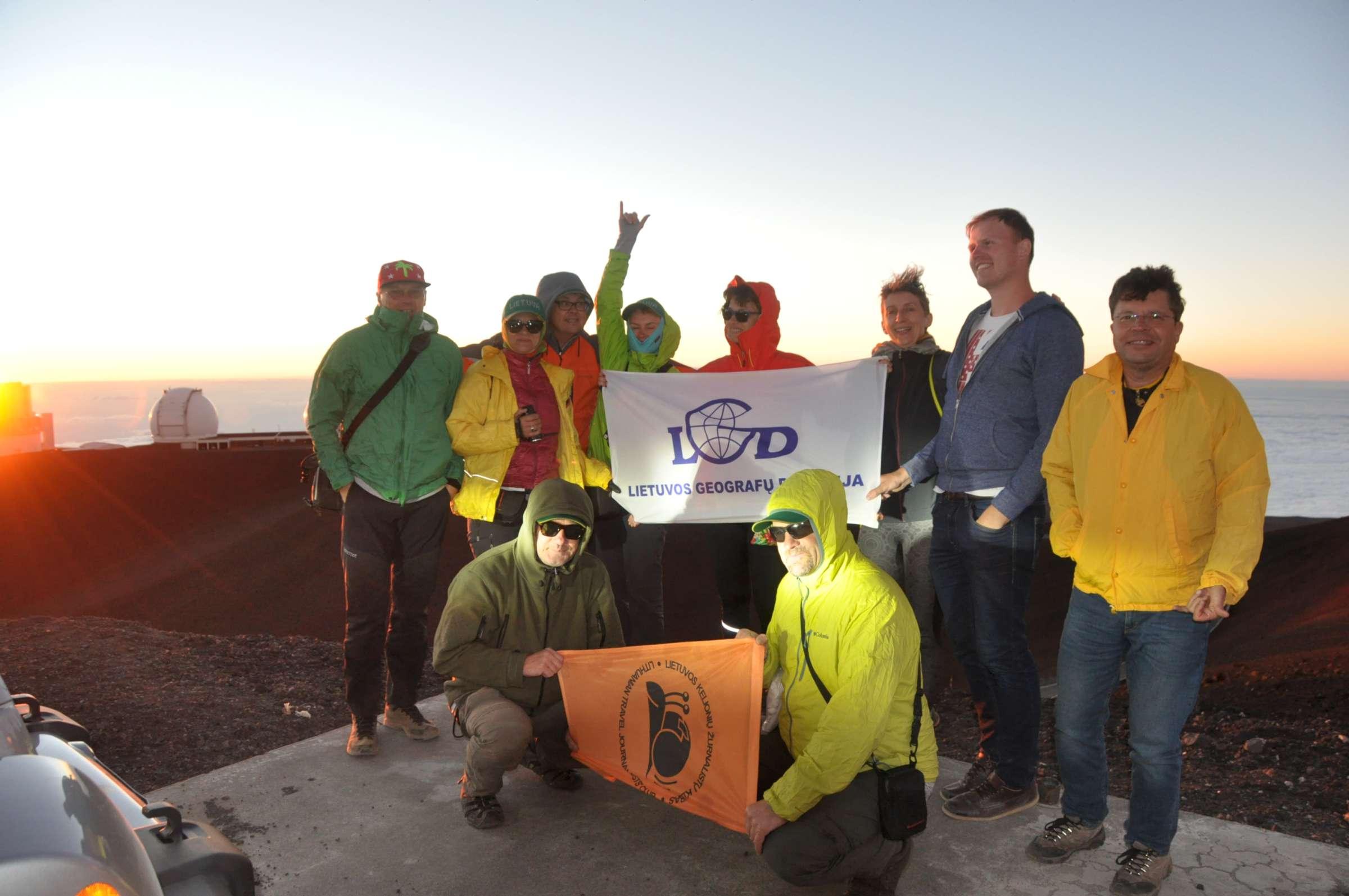 Ant aukščiausio pasaulio kalno Mauna Kea | V. Davydovo nuotr.