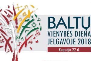 Baltu vienybes diena Jelgavoje