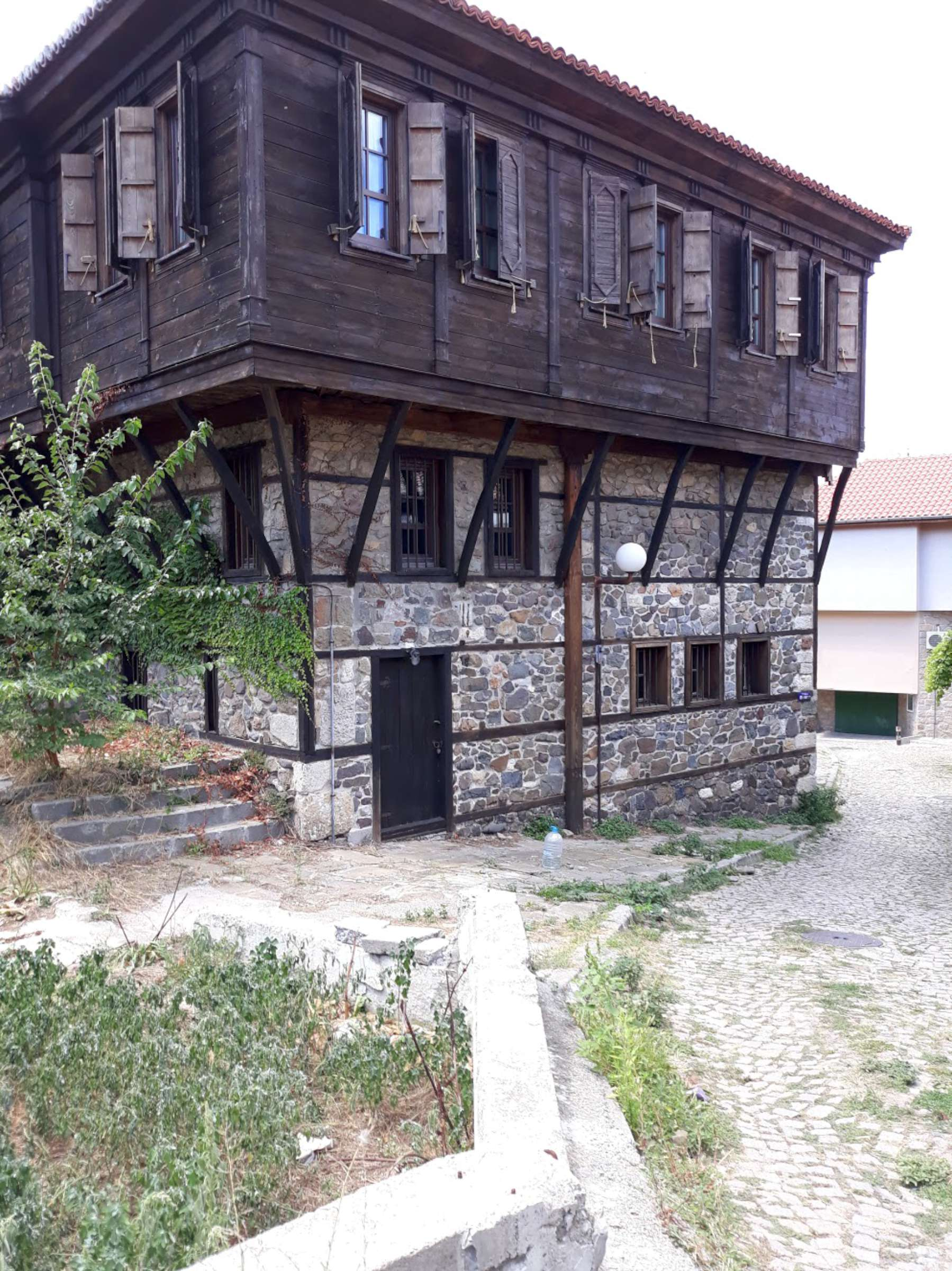 Senieji bulgarų namai.   R.Jasukaitienės nuotr.