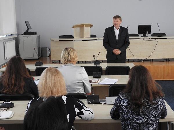 Švietimo konferencijoje kalbėta apie laukiančius iššūkius | Ignalinos r. savivaldybės nuotr.