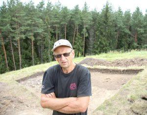 Archeologas Gintautas Zabiela | ve.lt nuotr.