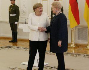 Angela Merkel, Dalia Grybauskaitė | Alkas.lt, A. Sartanavičiaus nuotr.