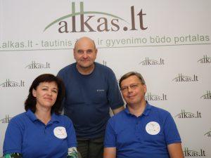 Genovaitė Kynė, Gerimantas Statinis ir Vladimir Davydov | Alkas.lt nuotr.