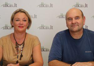 Daiva Markauskienė ir Gerimantas Statinis   Alkas.lt nuotr.