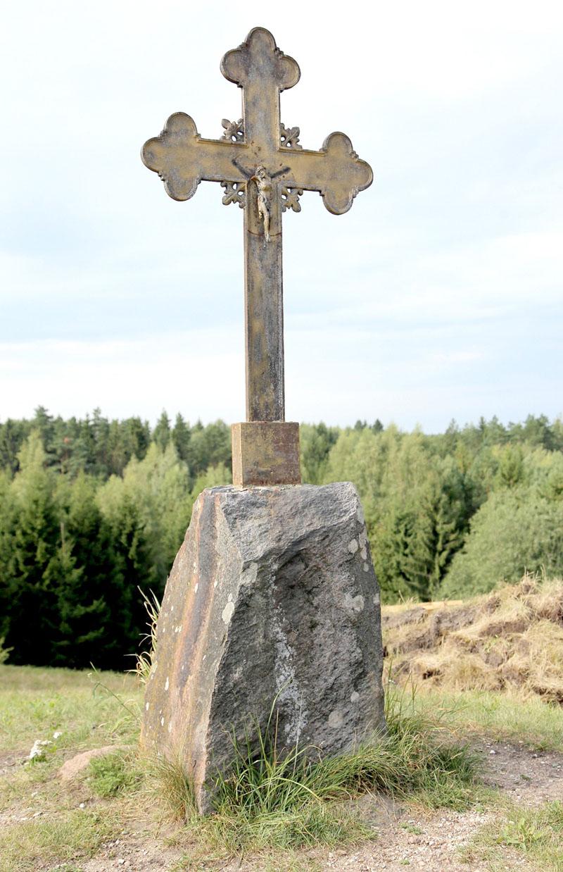 Kryžius ant Kudinų piliakalnio | ve.lt nuotr.