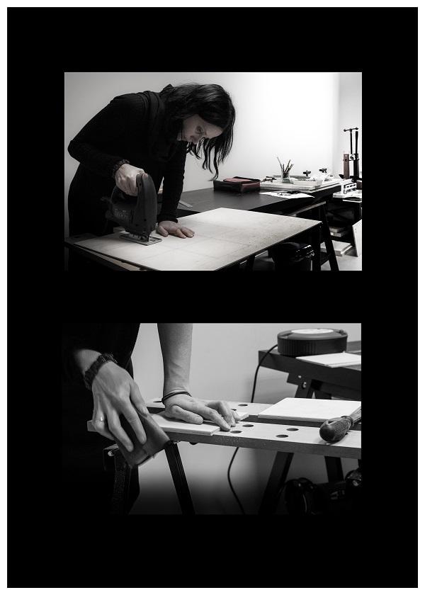 """įvyks Leonoros Kuisienės meninės knygrišybos parodos """"Laikas"""" atidarymas   Galerijos """"Ars et mundus"""" nuotr."""