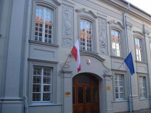 Pacų rūmai Vilniuje, dabar Lenkijos ambasada | wikipedija.org nuotr.