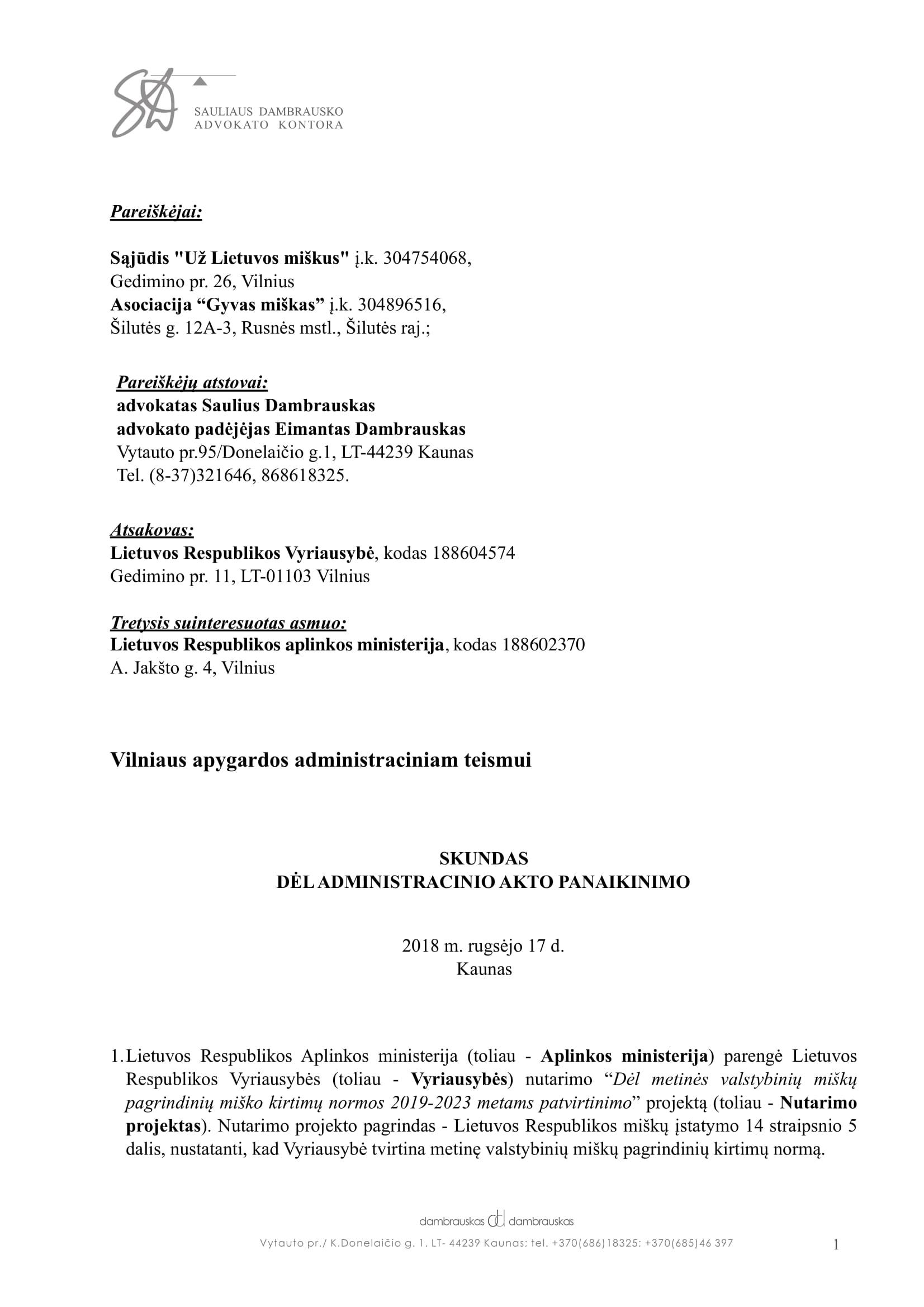 Skundas_teismui del misku kirtitimo1