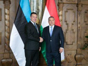 Estijos premjeras Juris Ratas ir Vengrijos premjeras Viktoras Orbanas   Valitsus.ee nuotr.