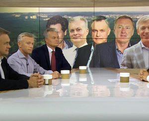 """Įtakingiausieji Nausėdos gerbėjai   LRT """"Dienos tema"""" stop kadras"""