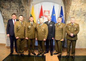 Lietuvos kariuomenės gretas papildė penki pulkininkai | G. Maksimovicz, KAM nuotr.