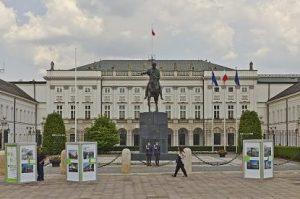 Radvilų rūmai Varšuvoje, dabar Lenkijos prezidento rūmai | A. Savin nuotr.