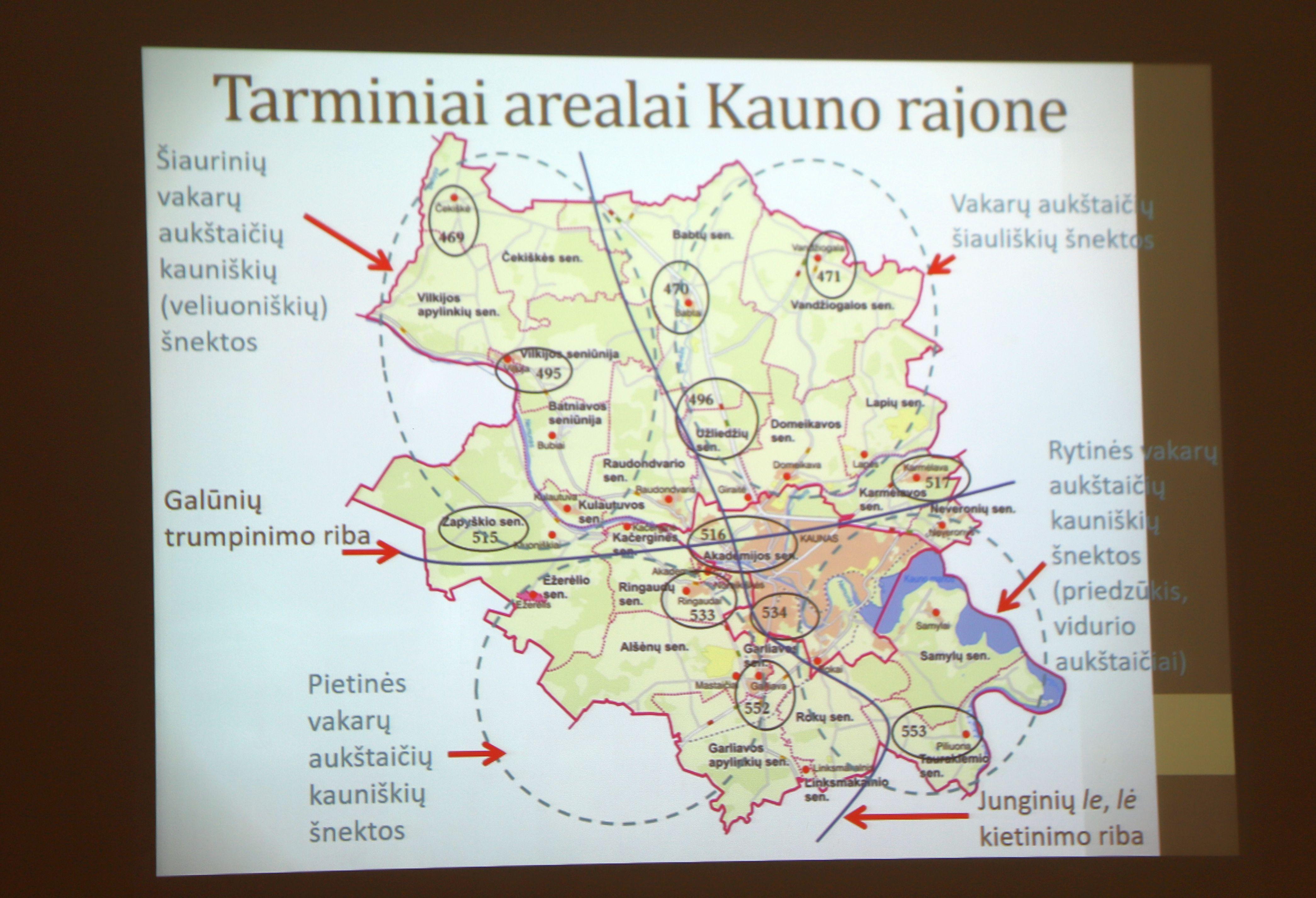 Mokslinė studija atskleidžia tarmių grožį ir jų kitimą | Kauno rajono savivaldybės nuotr.