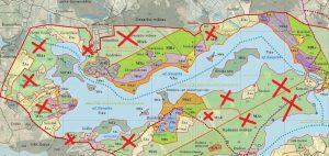 Siesarties hidrografinis draustinis. Siesartis – labai ypatingas ežeras. Priklauso dviems baseinams (takoskyrinis) – Šventosios ir Žeimenos upių. Prie ežero nuo seno daug poilsio bazių, bet nemažai ir III grupės miškų, kuriuose gali atsiverti 5 ha plynės.