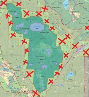 Girutiškio rezervatas – Lietuvos gamtos perlas. Aukštapelkė, 14 ežeriukų ir visai nekertami miškai – puiki priebėga daugeliui retų gyvūnų ir augalų rūšių, kurios iš čia gali migruoti į aplinkines teritorijas, taip turtindamos viso parko biologinę įvairovę. Bet plynės tą natūralią migraciją sustabdo. Visa rezervato apsaugos zona yra III miškų grupė, kurioje leidžiami tie baisieji atvejiniai kirtimai iki 5 ha. Plynai iškapojus rezervato apylinkes ims nykti ir paties rezervato flora bei fauna. Lenkijos mokslininkai, tyrinėję plynų kirtimų poveikį gretimoms teritorijoms, nustatė, kad netiesioginis plynių poveikis juntamas net ir už 500 metrų. Taigi plynėmis verčiant Girutiškio rezervato apsaugos zoną neigiamai būtų paveiktas praktiškai visas rezervatas. Išeitys čia dvi: arba nustatyti, kad I grupės miškų (rezervatų) buferinė zona būtų tik iš II grupės miškų, kuriuose leidžiami tik sanitariniai ir tarpiniai kirtimai, arba labiau sugriežtinti kirtimus III miškų grupėje, kad joje niekada neatsirastų plynių.