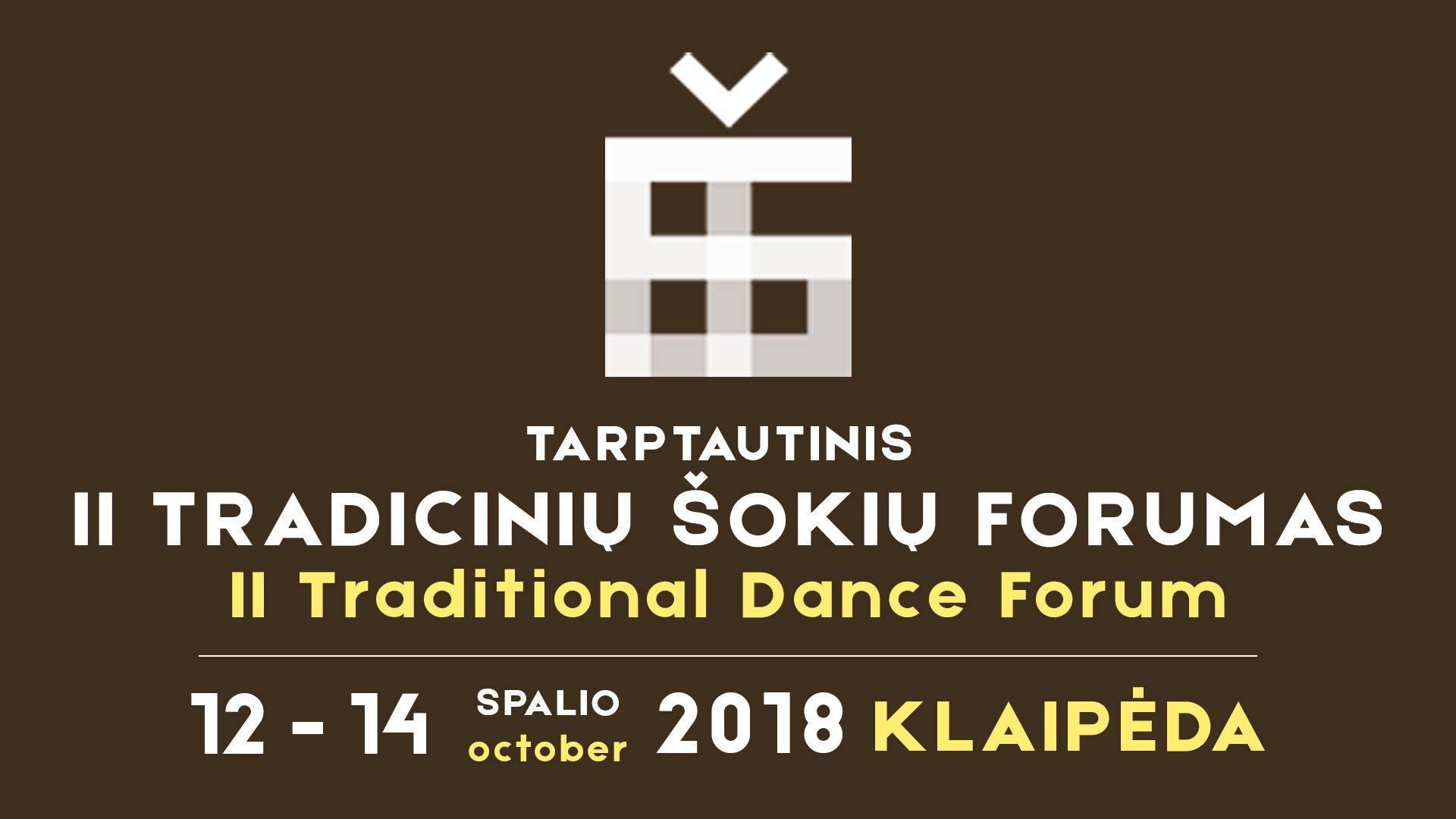 2018 10 12 II Tradicinių šokių forumas