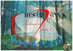 Spalio 13-osios žygio aplink Labanorą plakatas | www.gyvasmiškas.lt nuotr.